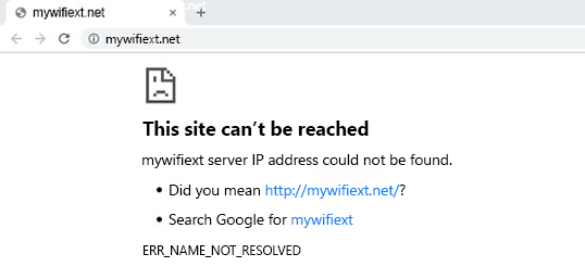 Mywifiext Not Working